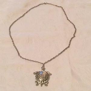 🐢Too Terrific Turtle Estate Pendant Necklace 🐢